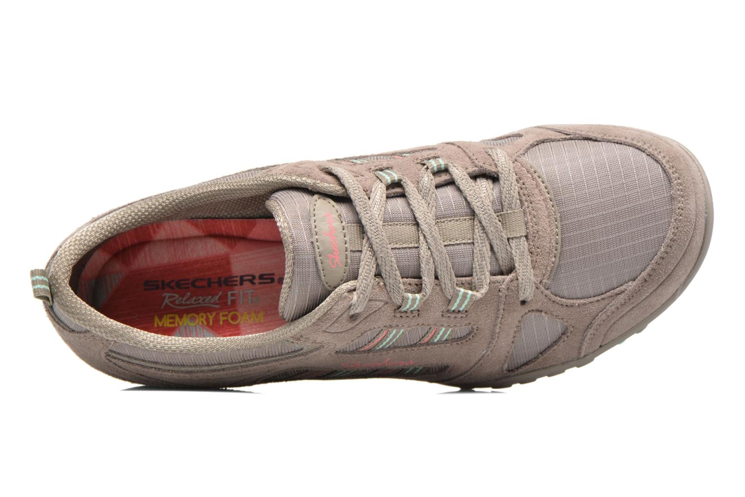Deportivas Skechers Breathe-Easy - Good Gris vista lateral izquierda