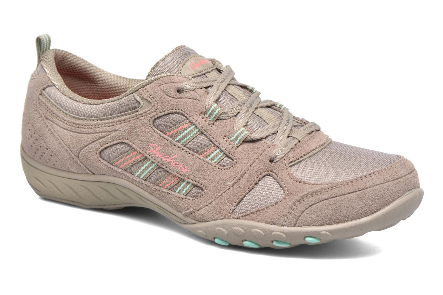 Deportivas Skechers Breathe-Easy - Good Gris vista de detalle / par