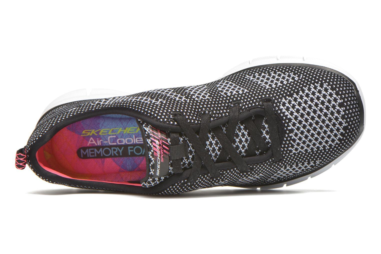 Chaussures de sport Skechers Glider - Forever You Noir vue gauche