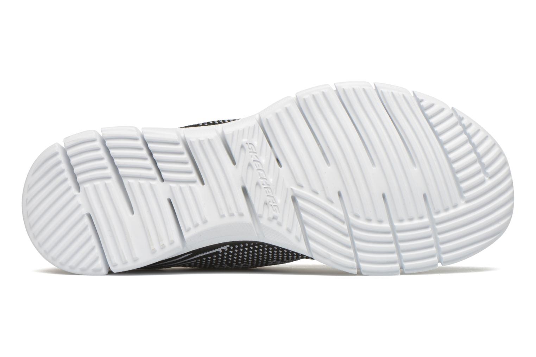 Chaussures de sport Skechers Glider - Forever You Noir vue haut