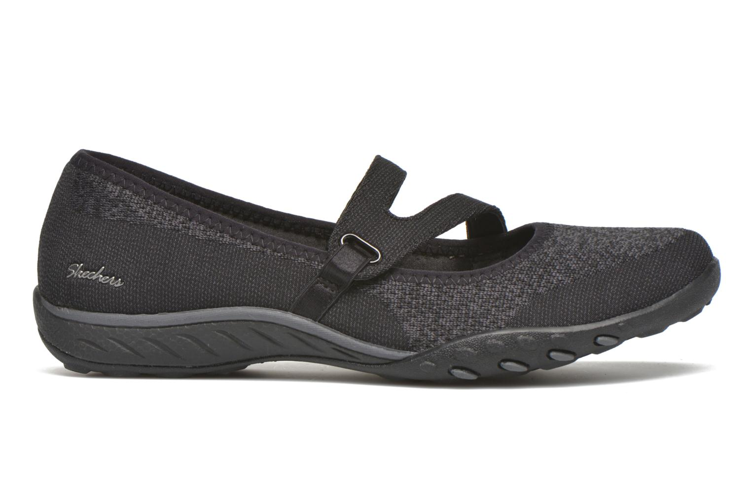 Ballerinaer Skechers Breathe-Easy - Lucky Sort se bagfra