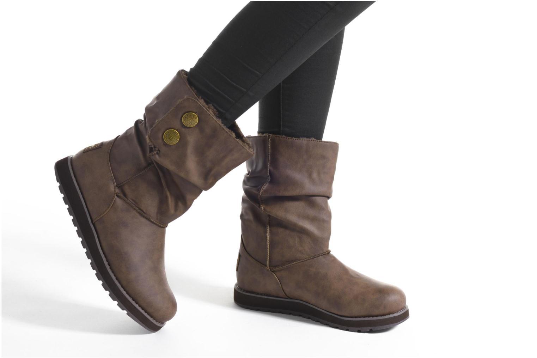 Bottes Skechers Keepsakes - Leathere Marron vue bas / vue portée sac