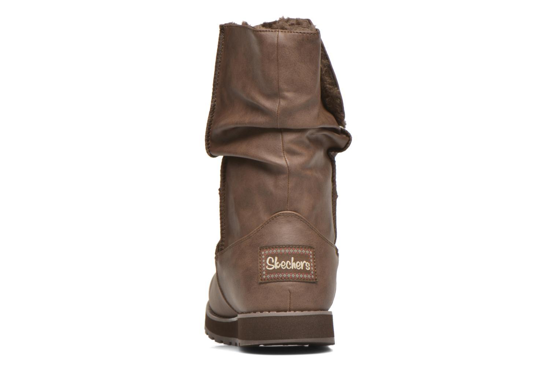 Bottes Skechers Keepsakes - Leathere Marron vue droite
