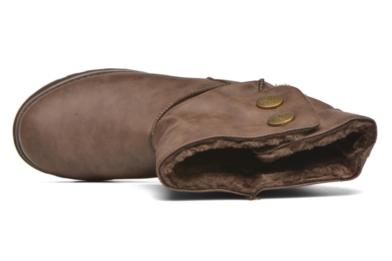 Bottes Skechers Keepsakes - Leathere Marron vue gauche