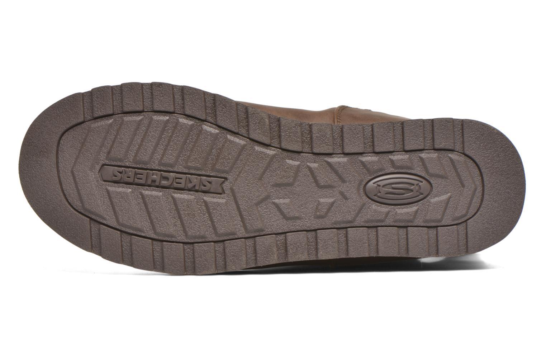 Bottes Skechers Keepsakes - Leathere Marron vue haut