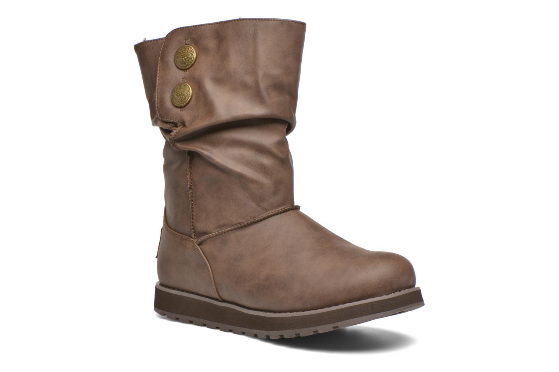 Bottes Skechers Keepsakes - Leathere Marron vue détail/paire