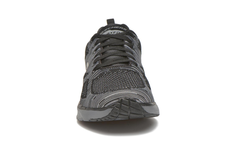 Sportschuhe Skechers Skech-Air Infinity-R schwarz schuhe getragen
