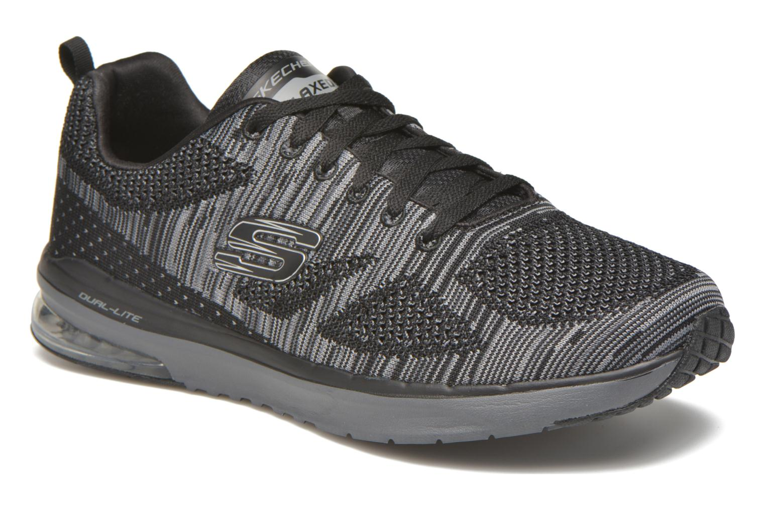 Sport shoes Skechers Skech-Air Infinity-R Black detailed view/ Pair view