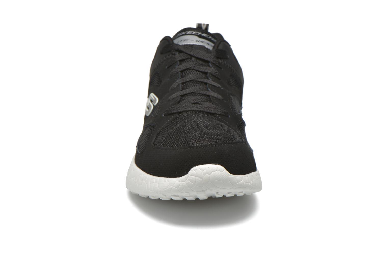 Chaussures de sport Skechers Burst Noir vue portées chaussures