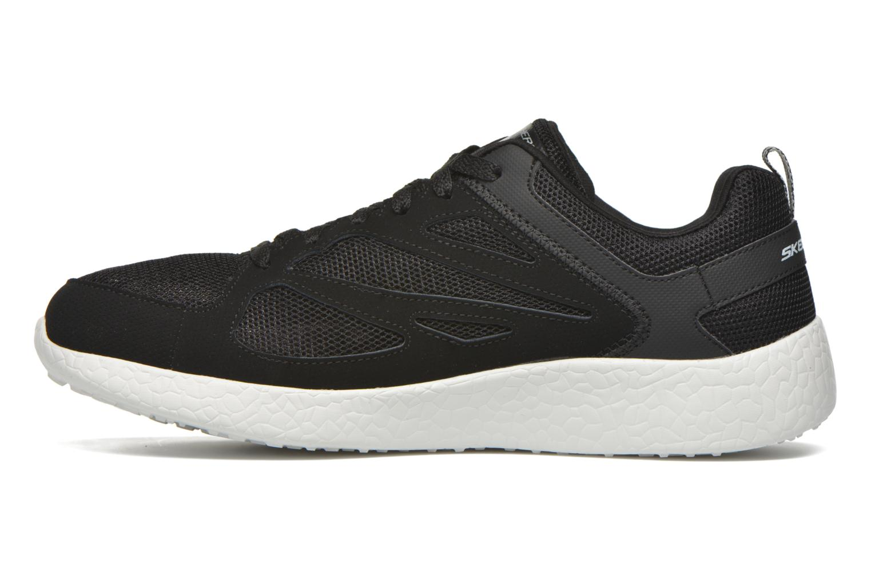Chaussures de sport Skechers Burst Noir vue face