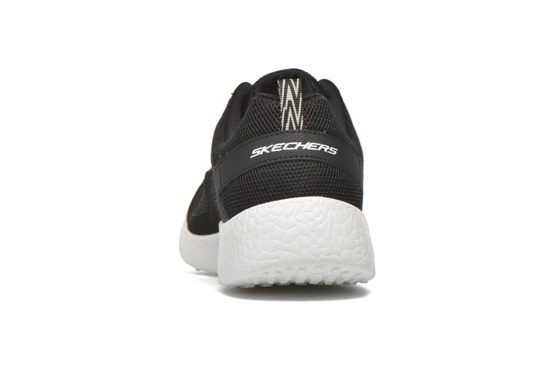 Chaussures de sport Skechers Burst Noir vue droite