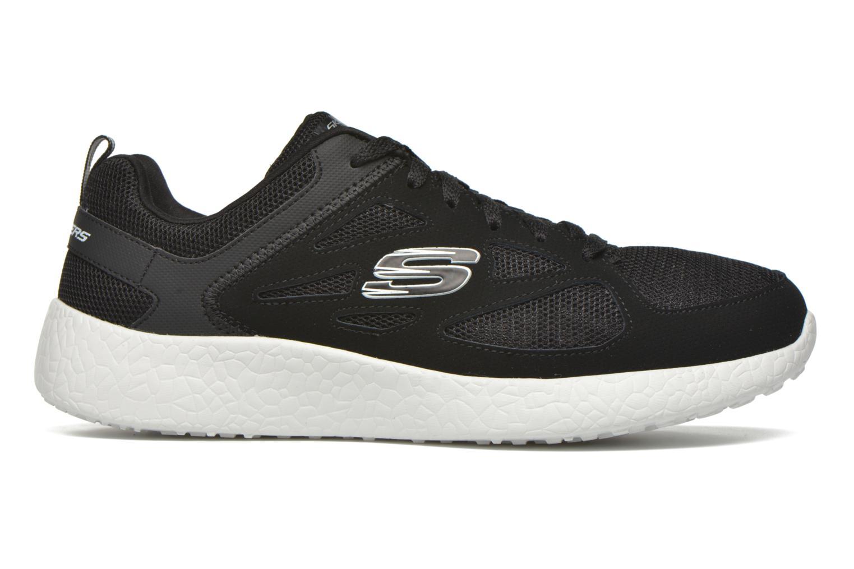 Chaussures de sport Skechers Burst Noir vue derrière