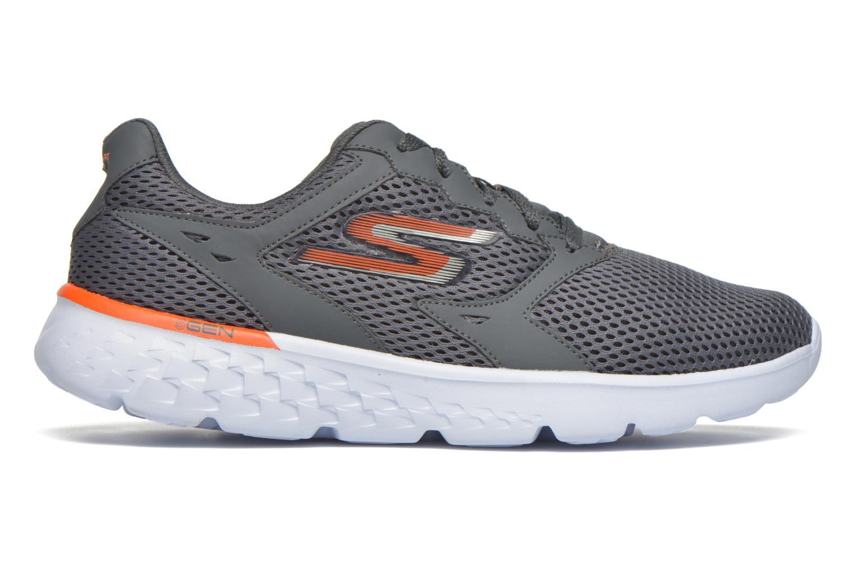 Sportschuhe Skechers Go run 400 grau ansicht von hinten