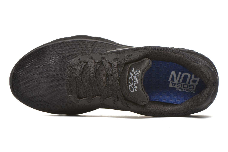 Chaussures de sport Skechers Go run 400 Noir vue gauche