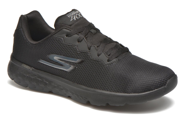 Chaussures de sport Skechers Go run 400 Noir vue détail/paire