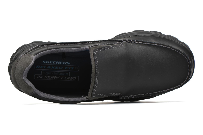 Loafers Skechers Braver- Rayland Svart bild från vänster sidan