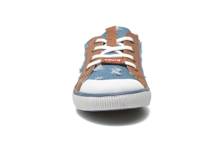 Baskets Levi's Goalkin Bleu vue portées chaussures