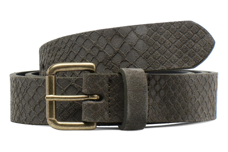 Cinturones Bensimon Ceinture croûte de cuir Gris vista de detalle / par