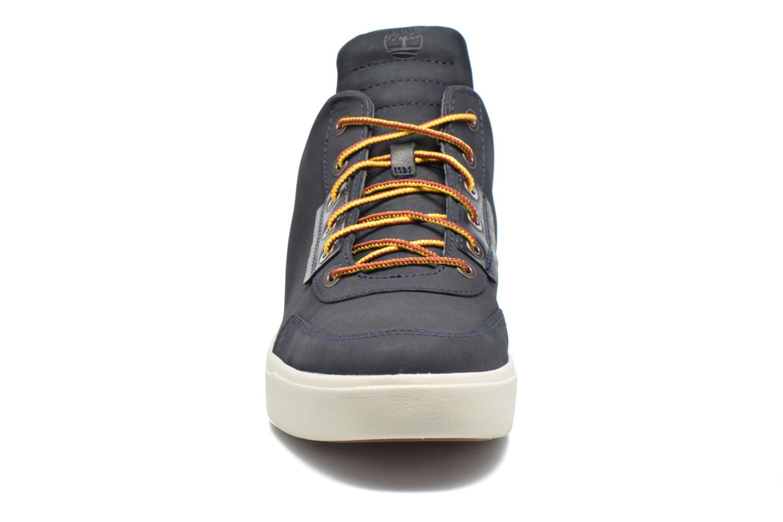 Sneaker Timberland Amherst High Top Chukka blau schuhe getragen