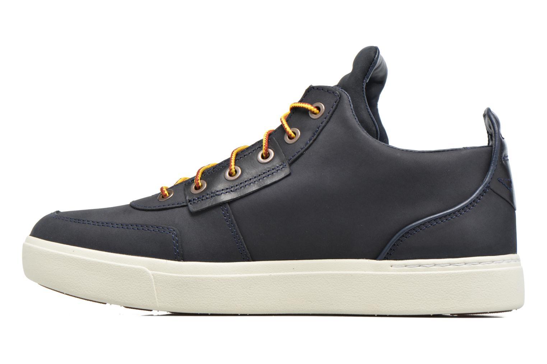 Sneaker Timberland Amherst High Top Chukka blau ansicht von vorne
