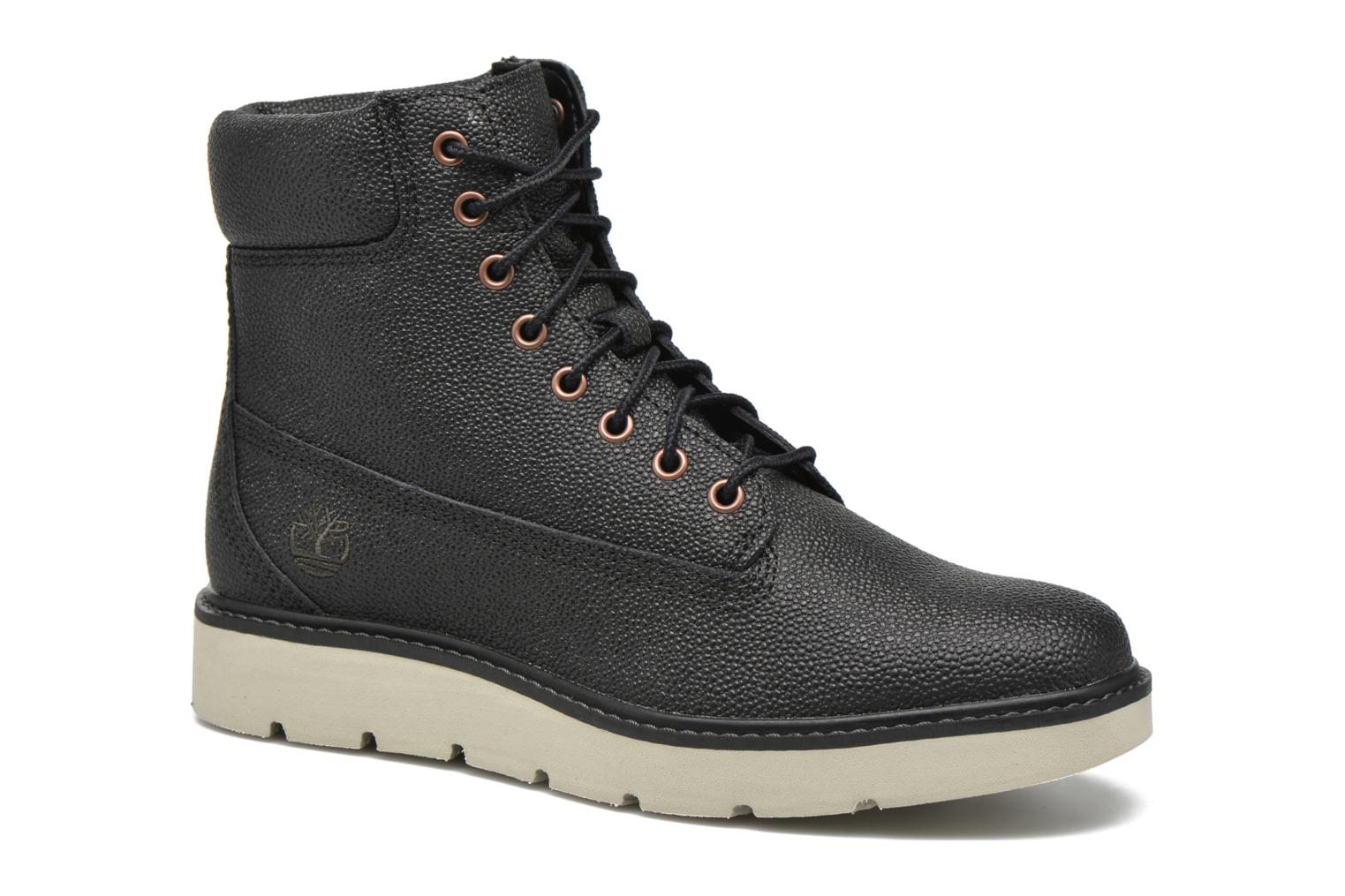 Kenniston 6in Lace Up Black Helcor Stingray