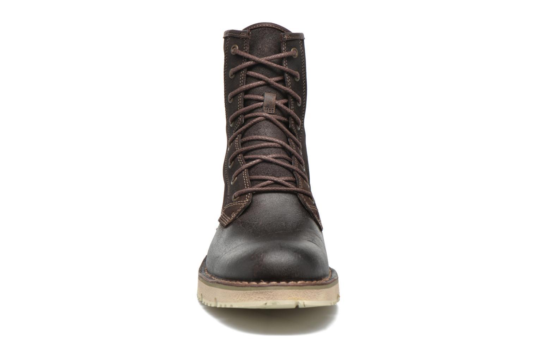 Stiefeletten & Boots Timberland Westmore Boot braun schuhe getragen