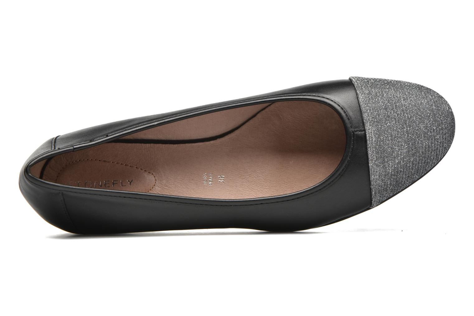 Ballet pumps Stonefly Maggie II 3 Black view from the left