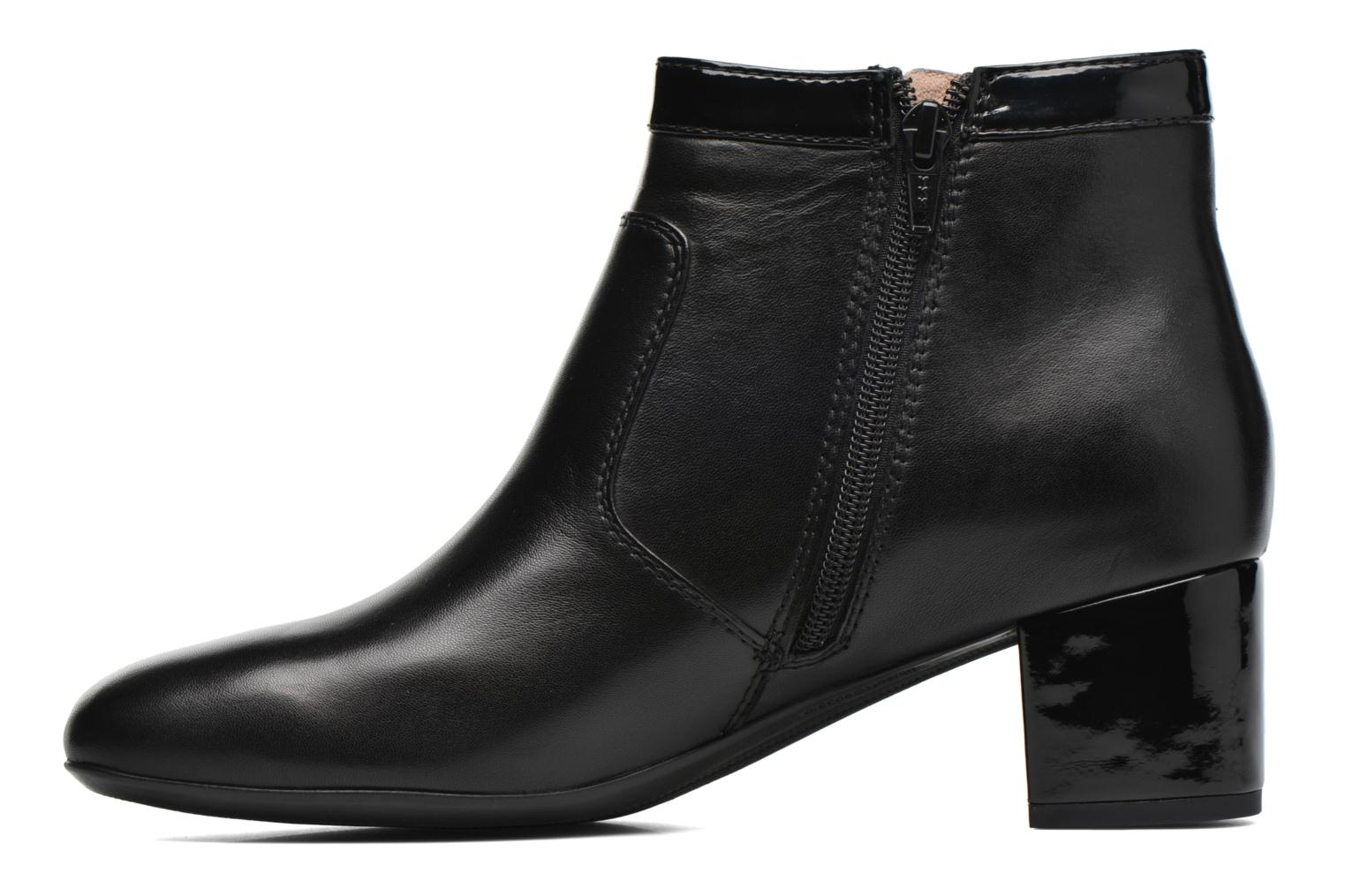 Ankle boots Stonefly Lory 12 Black front view