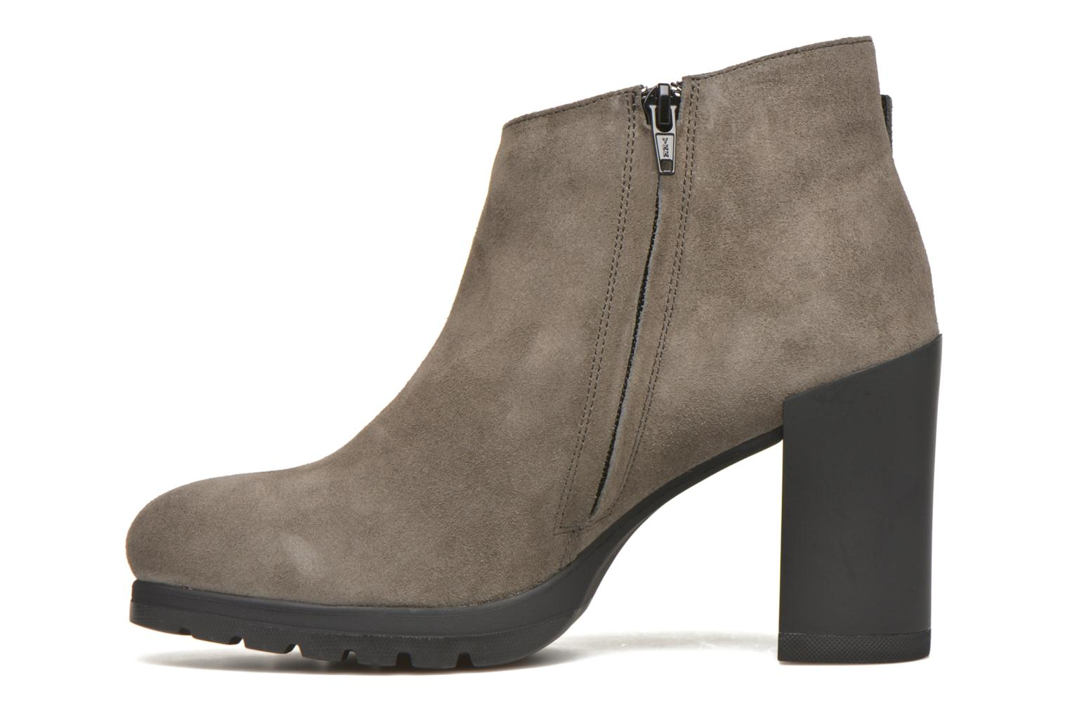 Ankle boots Stonefly Over 3 Grey front view