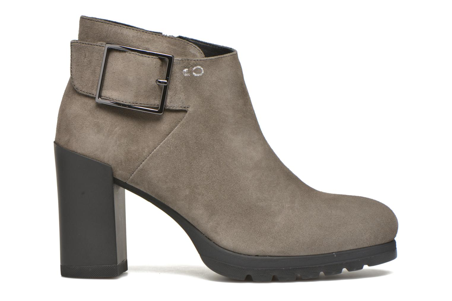 Ankle boots Stonefly Over 3 Grey back view