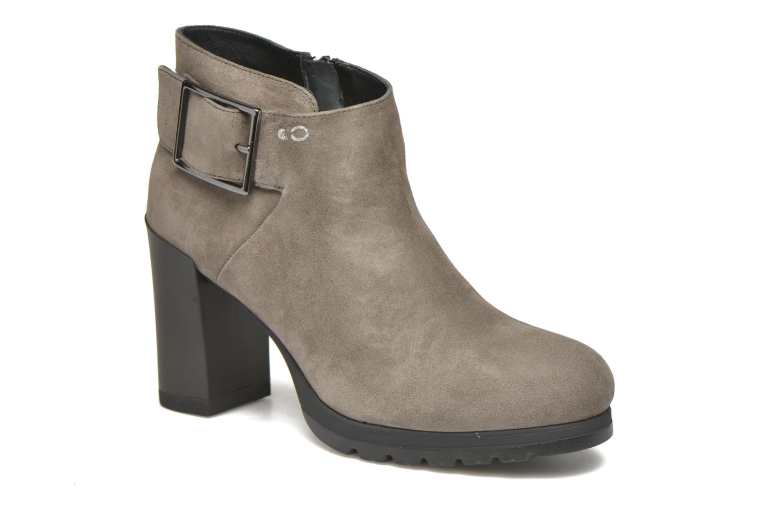 Ankle boots Stonefly Over 3 Grey detailed view/ Pair view