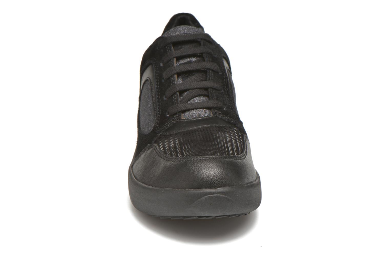 Sneaker Stonefly Romy 11 schwarz schuhe getragen