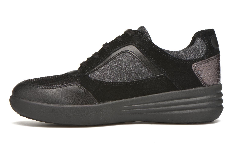Sneaker Stonefly Romy 11 schwarz ansicht von vorne