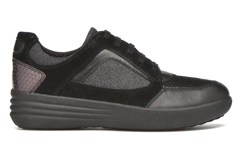 Sneaker Stonefly Romy 11 schwarz ansicht von hinten
