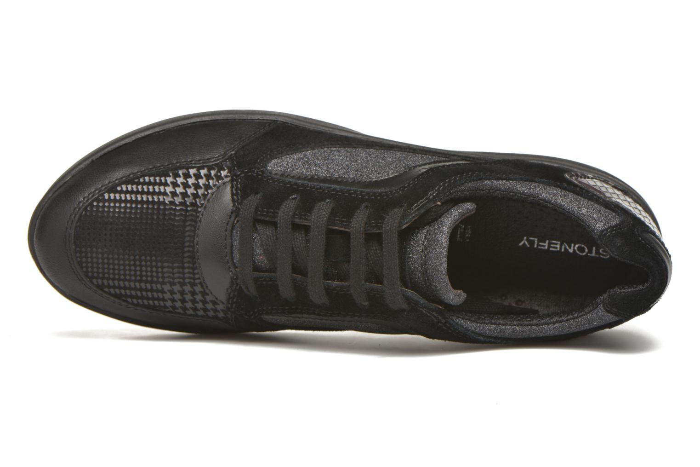 Sneaker Stonefly Romy 11 schwarz ansicht von links