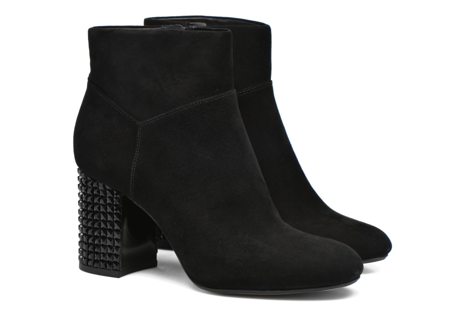 Bottines et boots Michael Michael Kors Arabella Ankle Boot Noir vue 3/4