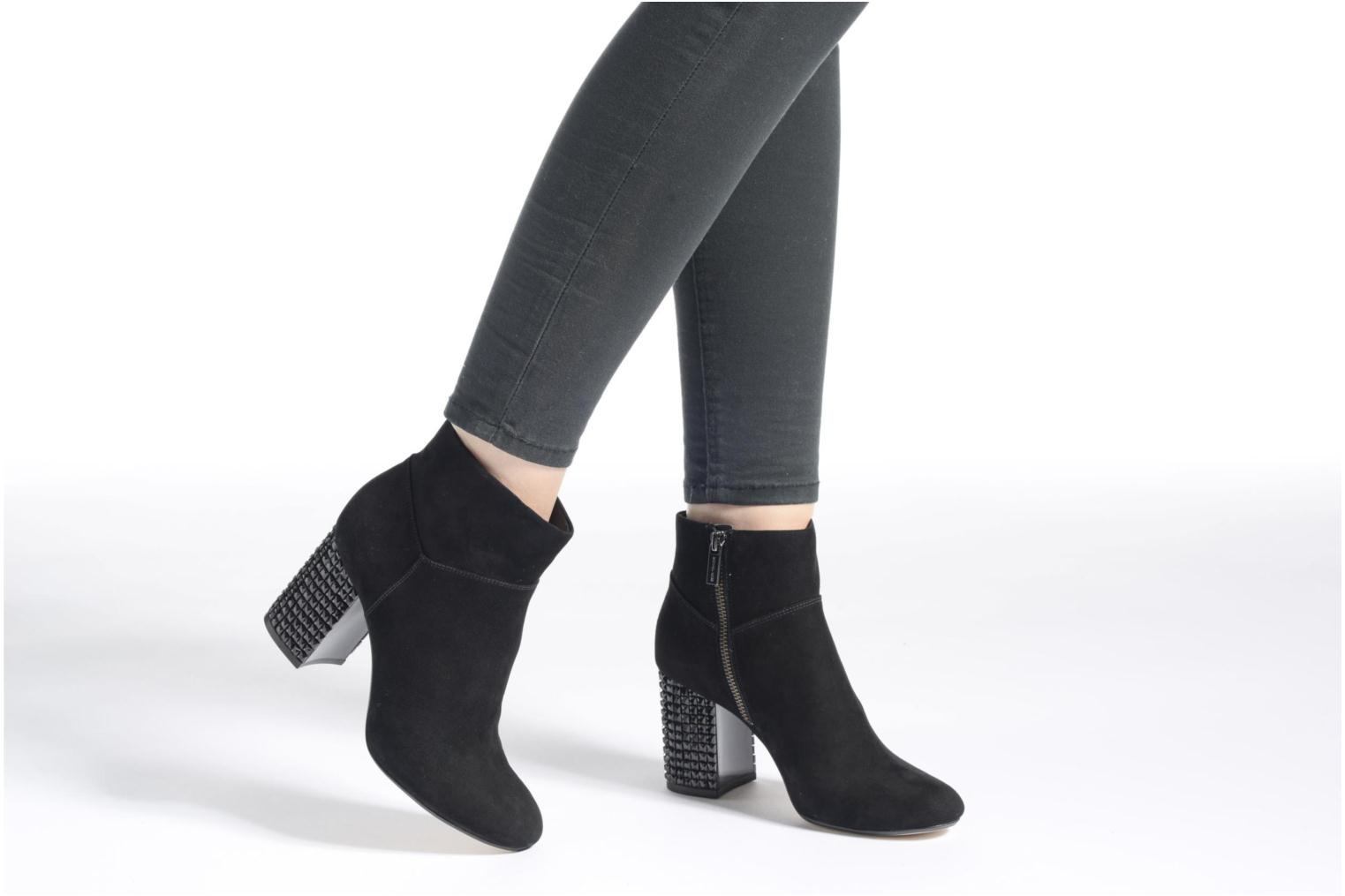 Ankle boots Michael Michael Kors Arabella Ankle Boot Black view from underneath / model view
