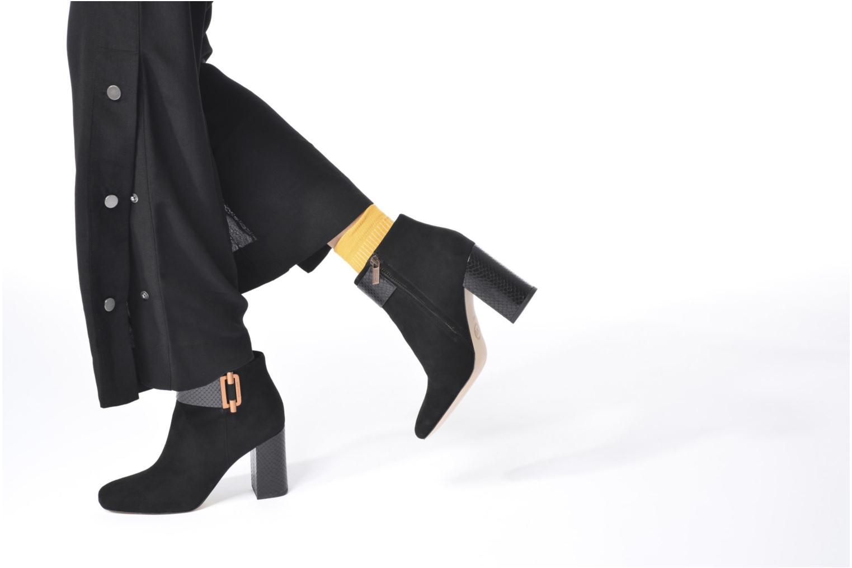 Bottines et boots Michael Michael Kors Gloria Ballet Noir vue bas / vue portée sac