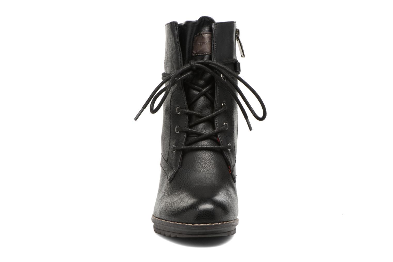Bottines et boots Tom Tailor Hanna Noir vue portées chaussures