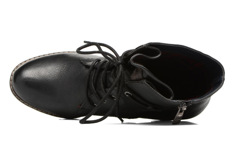 Bottines et boots Tom Tailor Hanna Noir vue gauche