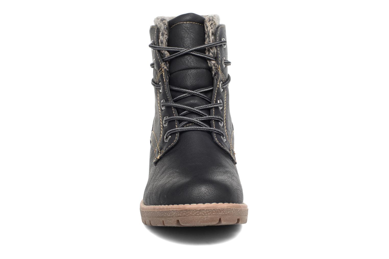 Schnürschuhe Tom Tailor Alix schwarz schuhe getragen