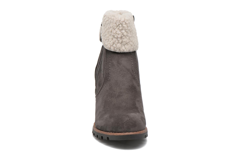 Bottines et boots Tom Tailor Claire F Gris vue portées chaussures