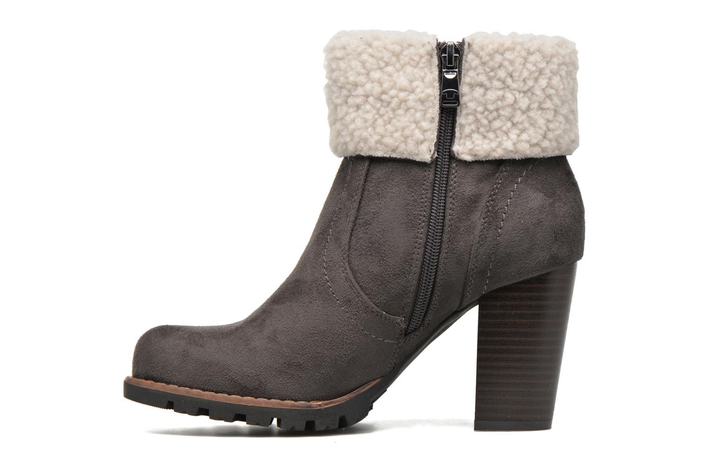 Bottines et boots Tom Tailor Claire F Gris vue face