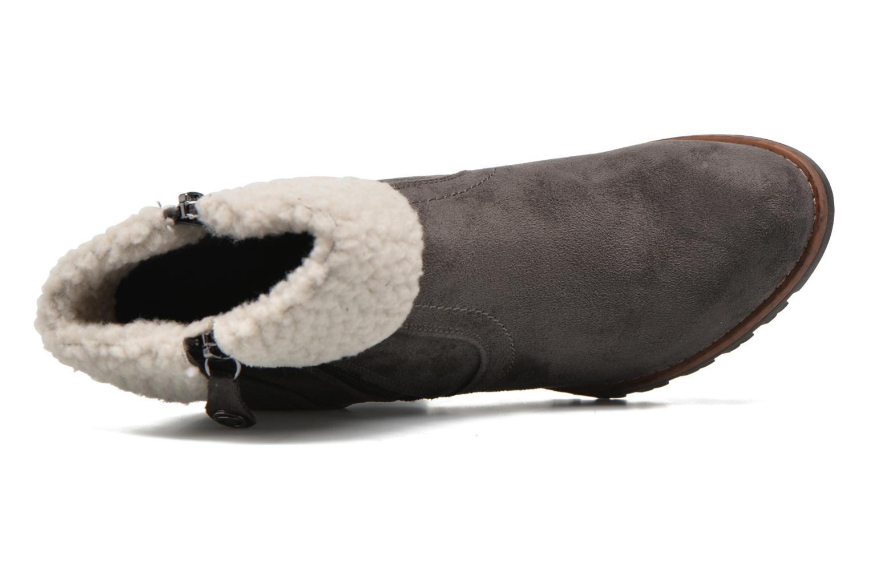 Bottines et boots Tom Tailor Claire F Gris vue gauche