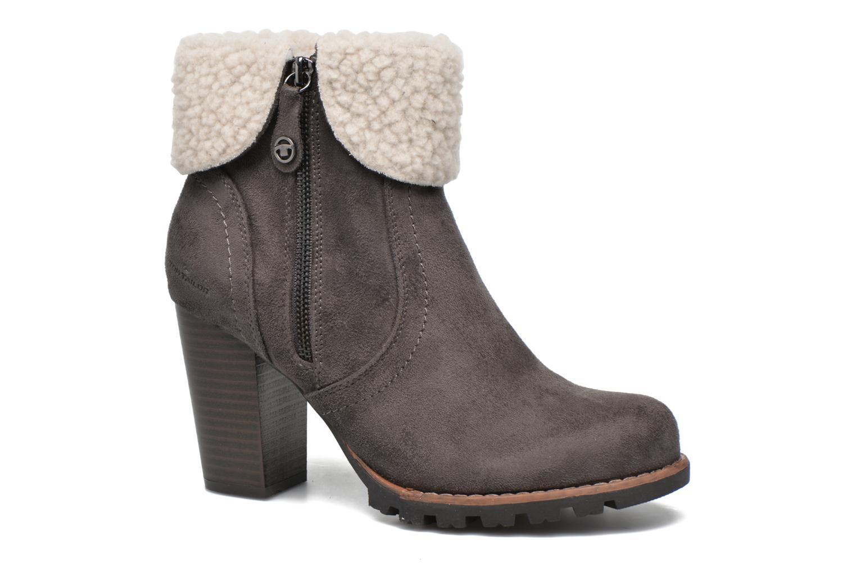 Bottines et boots Tom Tailor Claire F Gris vue détail/paire