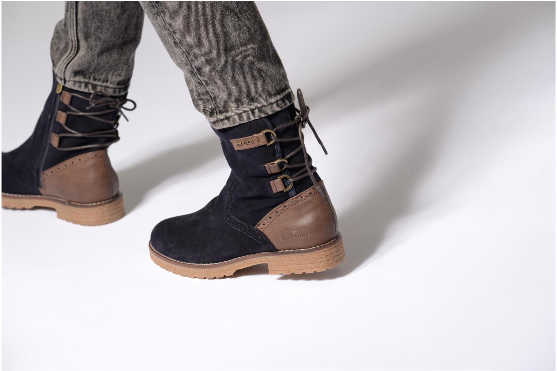 Stiefeletten & Boots Tom Tailor Margaux blau ansicht von unten / tasche getragen
