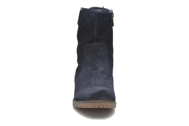 Stiefeletten & Boots Tom Tailor Margaux blau schuhe getragen