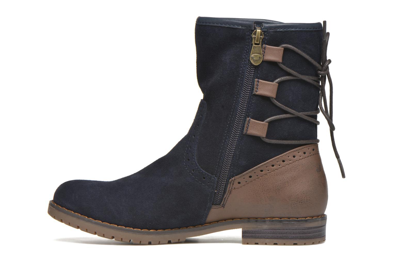 Stiefeletten & Boots Tom Tailor Margaux blau ansicht von vorne