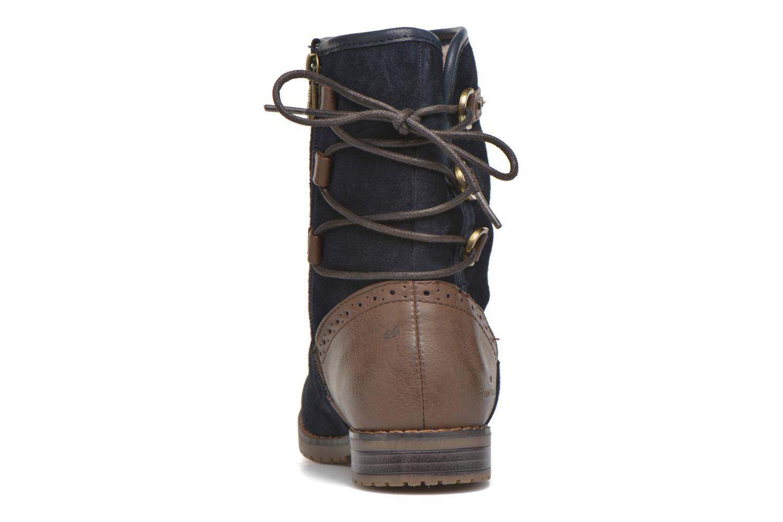 Stiefeletten & Boots Tom Tailor Margaux blau ansicht von rechts
