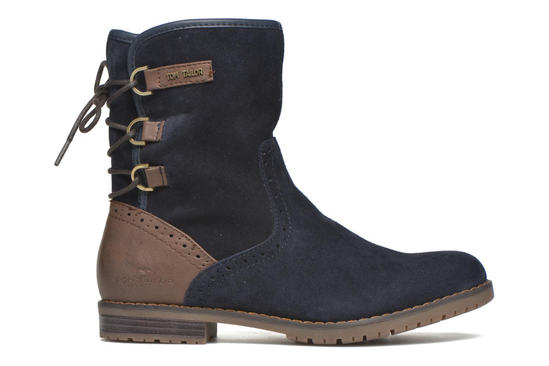 Stiefeletten & Boots Tom Tailor Margaux blau ansicht von hinten